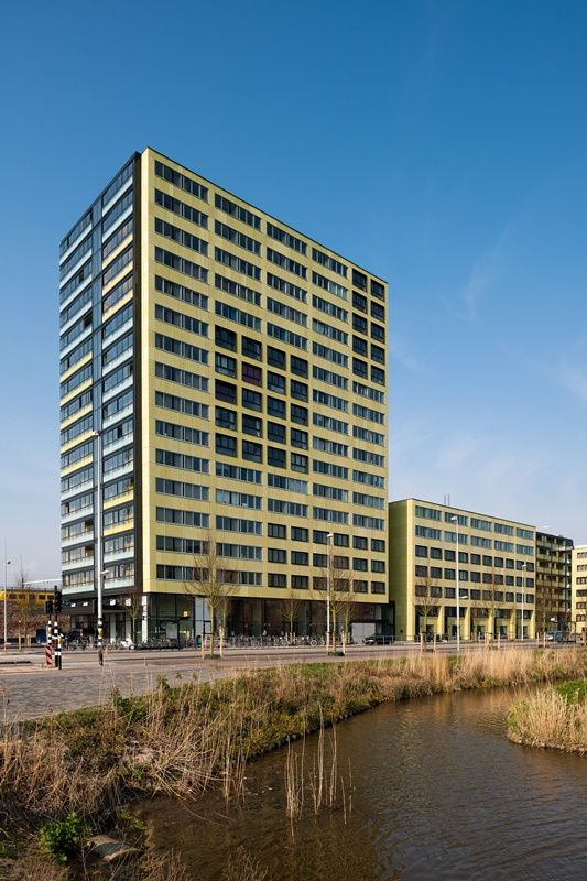 DUWO student housing at Science Park II, Carolina MacGillavrylaan, Amsterdam - www.DUWO.nl