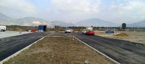 El nuevo apeadero se traslada al solar donde irá ubicada la futura estación de autobuses