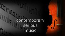 contemporary serious music