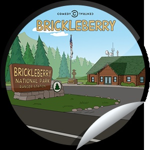 Steffie Doll's Brickleberry: Gay Bomb Sticker | GetGlue