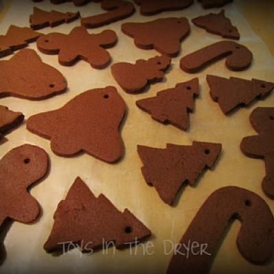 Crafting Recipe For Non Eating Gingerbread Crafts