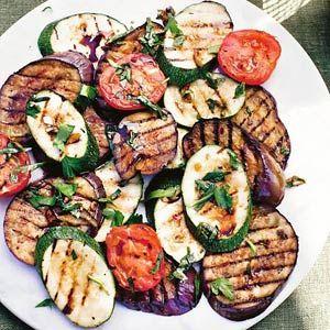 Recept - Gemengde gegrilde groenten - Allerhande