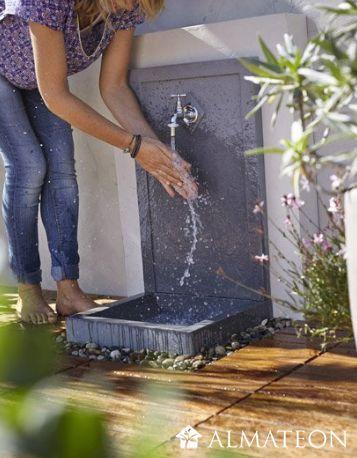 83 best fontaines d 39 ext rieur images on pinterest - Fontaine exterieur moderne ...