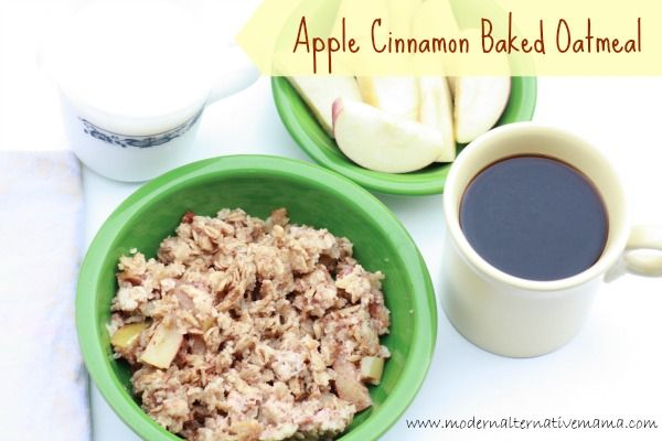 Recipe Collection: Baked Apple Cinnamon Oatmeal {Guest ...