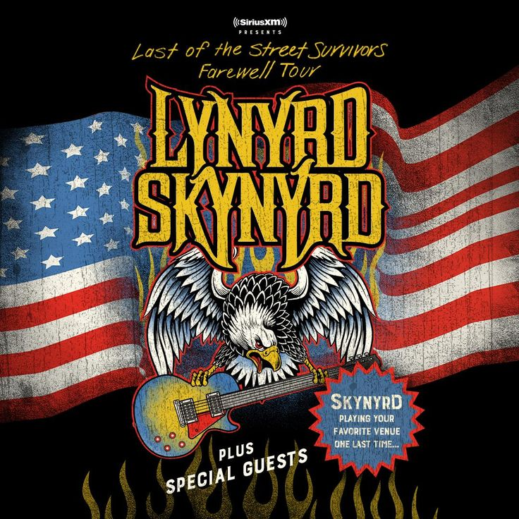 Lynyrd Skynyrd's Last of the Street Survivors Farewell Tour! Presales start 1/30 at 10am local time.