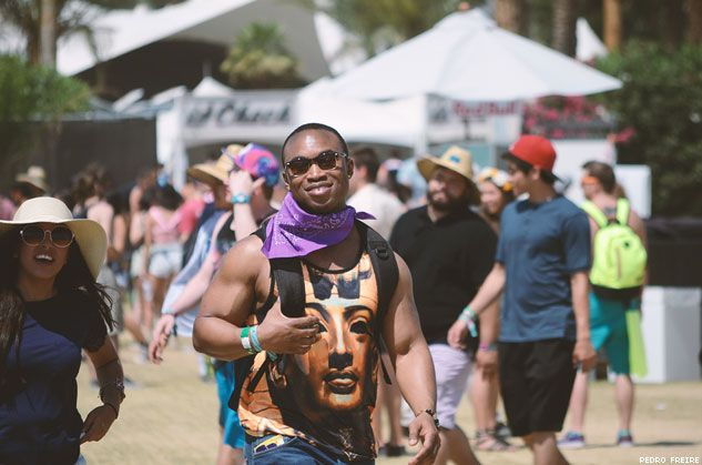 PHOTOS: The Beautiful People of Coachella 2014 | OUTTraveler.com | The Standard of Gay Travel