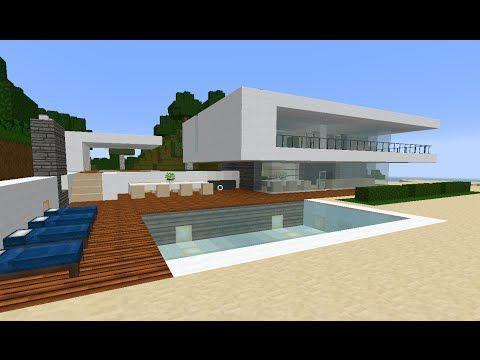 Die besten 25+ Minecraft Strandhaus Ideen auf Pinterest Colle - minecraft schlafzimmer modern