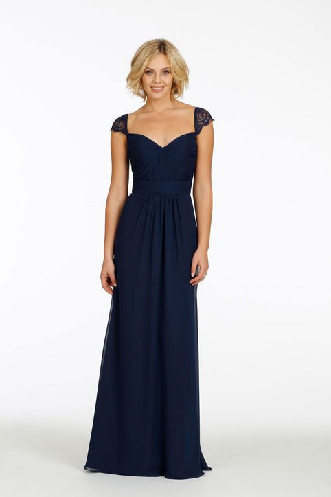 I LOVE THIS DRESS  its so simple but beautiful~ jim hjelm occasions bridesmaid dress <3