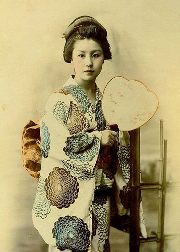 Geisha. Circa Late-19th Century.