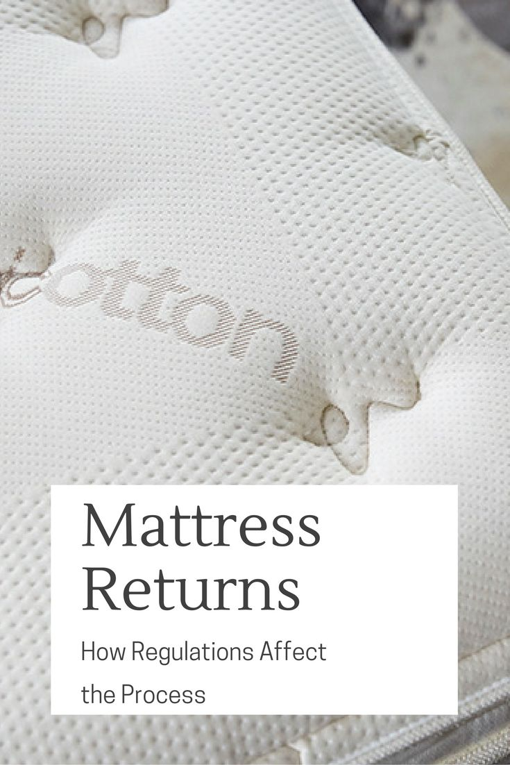 It's disappointing when you try to return a mattress and get smacked with  high return fees