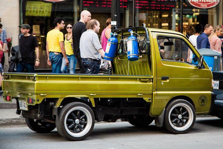 Mini truck or Kei truck
