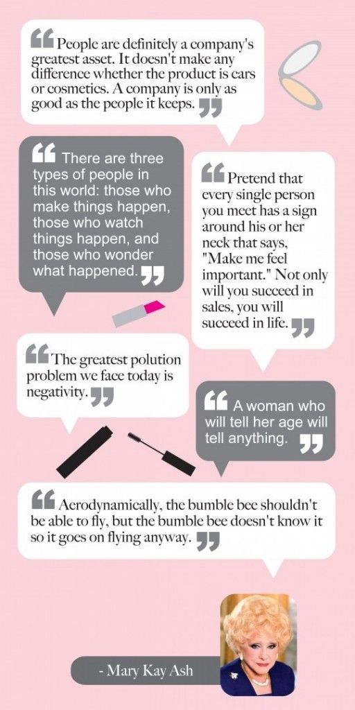 Best Mary Kay Quotes Images On   Beauty Consultant