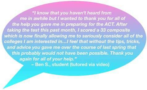 Feedback on ACT Prep. See when the next ACT Prep Class starts and get all the details here: http://collegeprepexpress.com/act-prep-class/