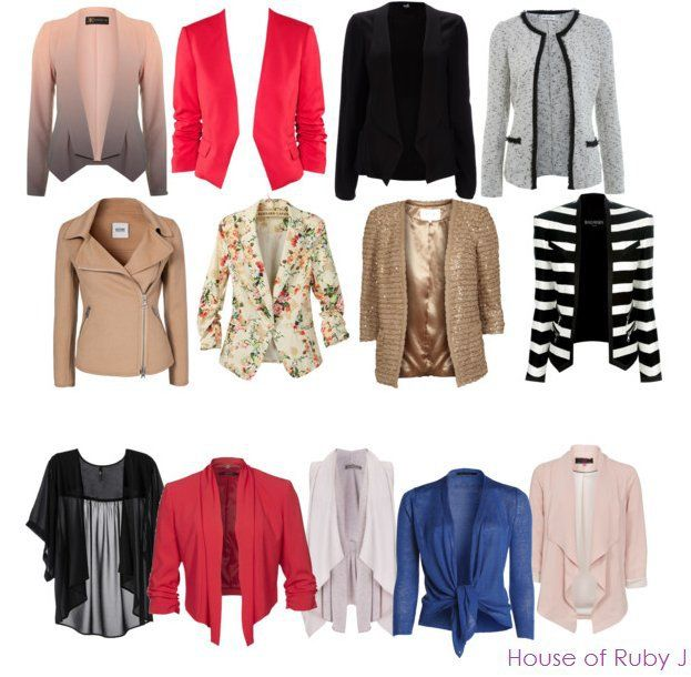 Formal and casual third layers for rectangle body shapes - Polyvore