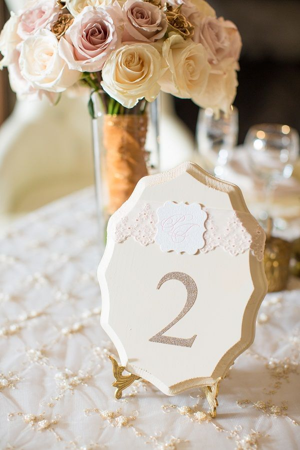 Wooden Table Number by www.soprettyinprint.com www.traceymevents.ca Photos: www.avenue-photo.com