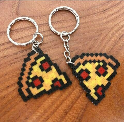 Pizza Perler Beads