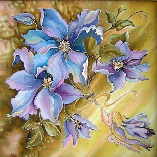 Marina Ivannikova, Silk Painting