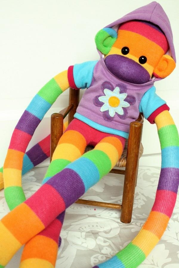 ... Sock Monkey Madness on Pinterest | Sock monkeys, Monkey and Sock