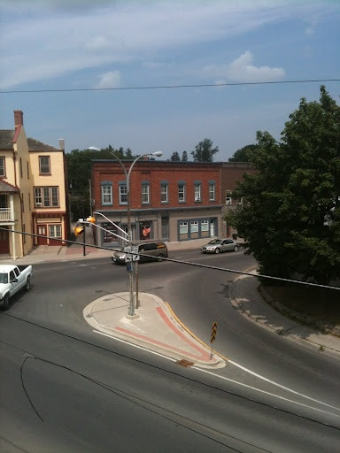 The Top of the Town Hill in Picton. Great place for a roundabout! Have you been through?