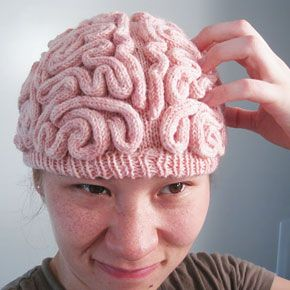 I don't know why this is so funny....: Hats, Idea, Thinking Cap, Stuff, Crochet, Funny, Brainhat