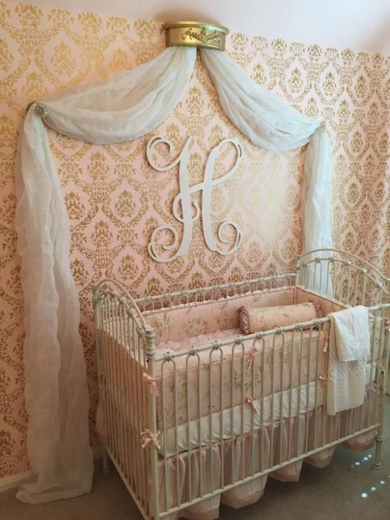15 Cute Baby Girls Nursery Wallpapers for Inspiration