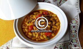 Tajine de veau aux haricots blancs frais (Loubia Grini)