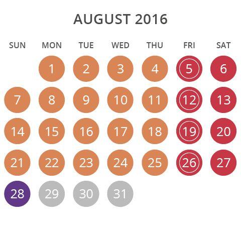 Wet'n'Wild Las Vegas August 2016 Operating Hours