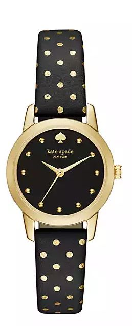 Gold dot watch by kate spade new york