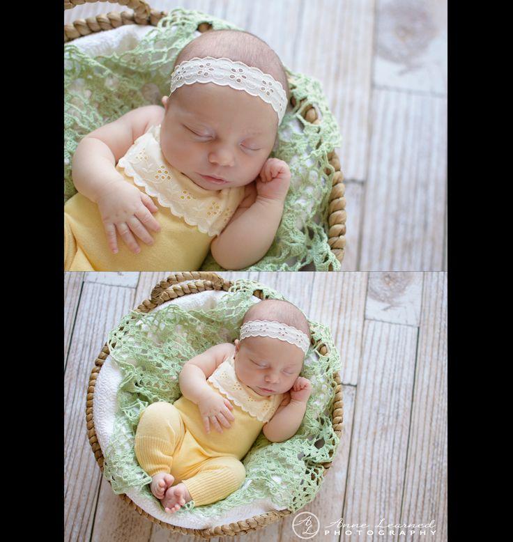 Newborn girl photo kansas city photographer