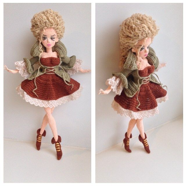 lovely doll by Oksana Somati (inspiration only - no pattern)