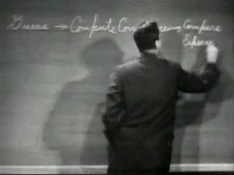 The Key to Science in 63 Seconds by Richard Feynman #Richard_Feynman #Science #FeynmanChaser