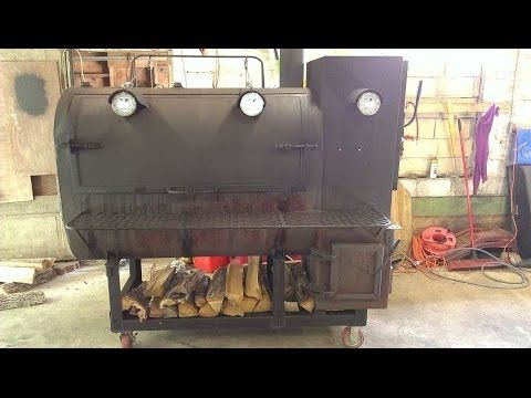 1st cook smoke using 275 gallon heating oil smoker youtube bbq in 2019 bbq pit smoker bbq. Black Bedroom Furniture Sets. Home Design Ideas