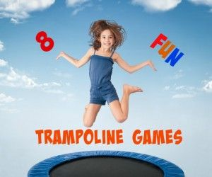 Amazingly fun trampoline games for kids