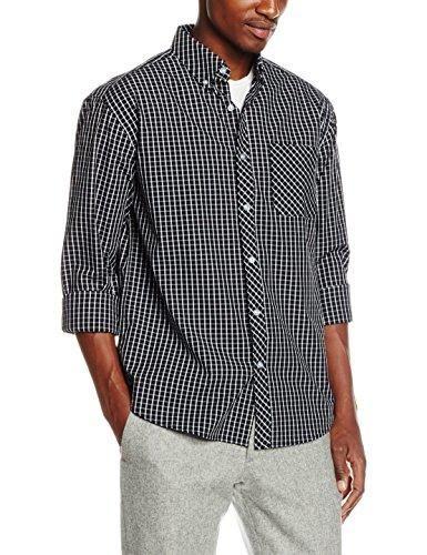 Oferta: 49.00€. Comprar Ofertas de The Indian Face Alachua, Camisa Casual Para Hombre, Azul Marino / Blanco, Small barato. ¡Mira las ofertas!