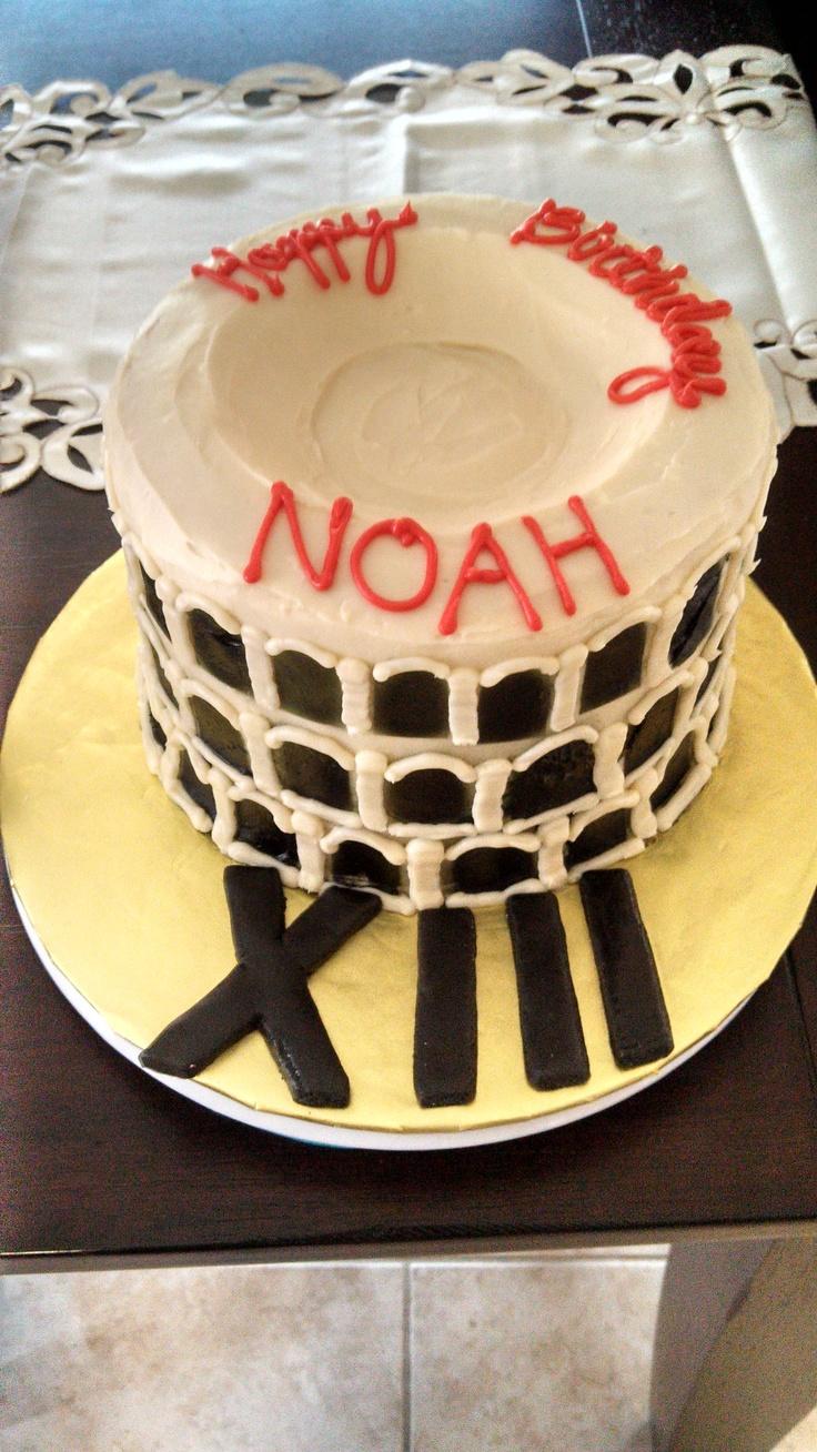 Colosseum cake