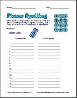phone spelling