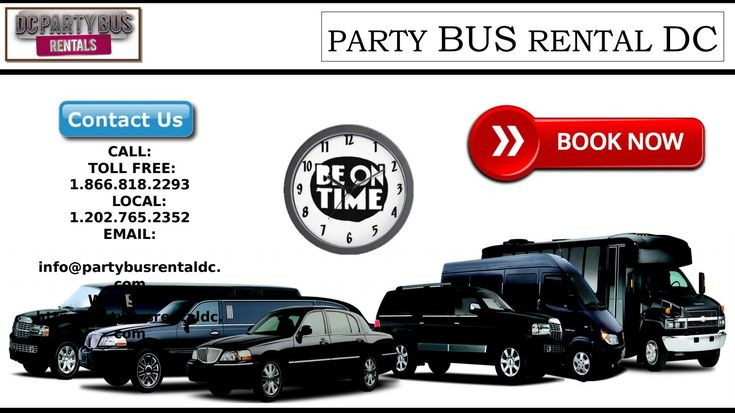 Limo service northern virginia with images party bus