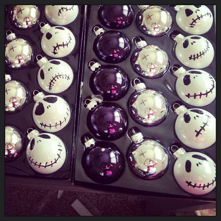 16 best jack skellington tree ideas images on pinterest - Jack skellington christmas decorations ...