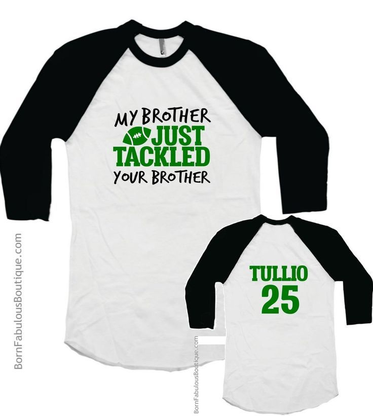 Funny sibling football shirt for games or practice!  Love this! Brother Football Shirt - My Brother Just Tackled Your Brother Raglan - shirt sale, slim fit button down short sleeve shirts, mens button down shirts casual *ad