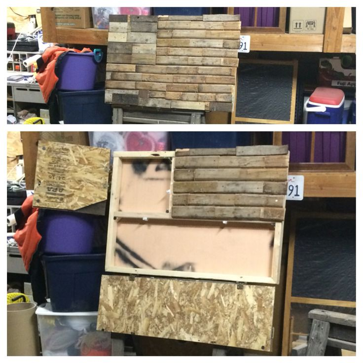 Wall Mounted Hideaway Storage Cabinet Gun Concealment