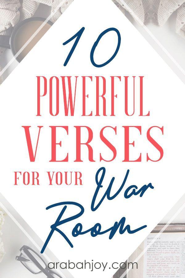 10 War Room Scriptures For Your War Room Prayer Strategy War Room Prayer Scriptures Prayer Strategies War Room Prayer
