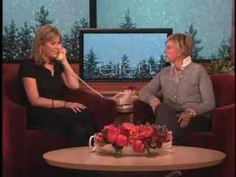 "Jenna Bush calls dad from Ellen show. This is a must watch! ""I'm not going to get anything I asked for for Christmas!"""