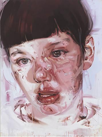 Jenny Saville, Red Stare IV, panathinaeos.wordpress.com