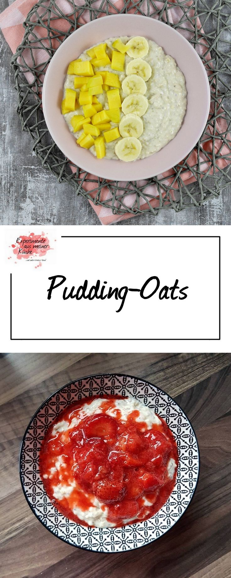Pudding-Oats | Frühstück | Rezept | Porridge | Weight Watchers