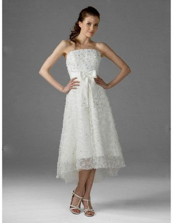 115 besten Short Wedding Dresses Bilder auf Pinterest | Reception
