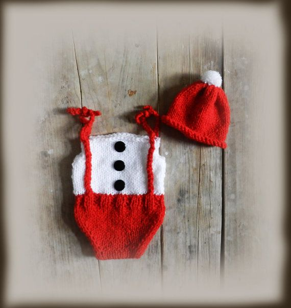 Baby Christmas Outfit/ Snowman Outfit/  Baby by GabriCollection