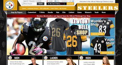 NFL Jerseys Reviews: Pittsburgh Steelers Jerseys