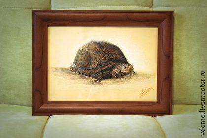 диптих графика рисунок картины: черепахи (2 работы) - картина,Диптих,черепаха