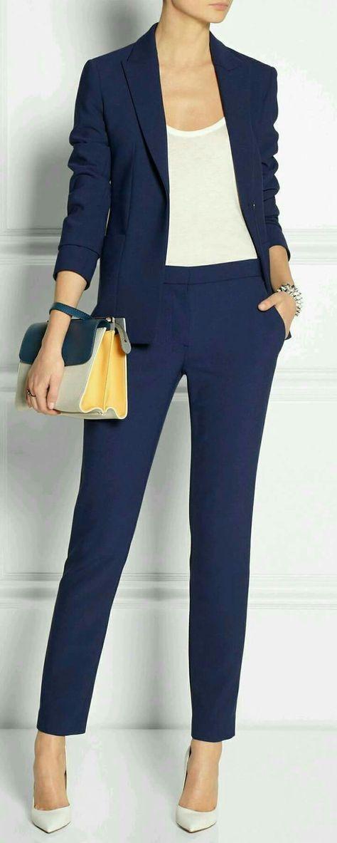 Blue women suit...Real cute
