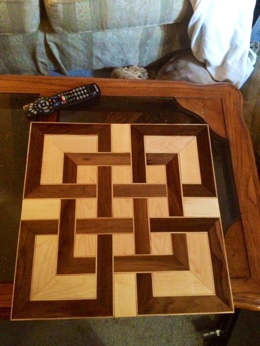 celtic knot cutting board
